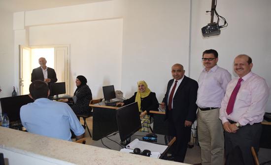 ورشة عمل حول التعليم الالكتروني كأسلوب تدريس في جامعة إربد الأهلية
