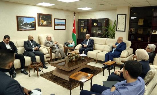 سمارة يلتقي رئيس الجامعة الهاشمية
