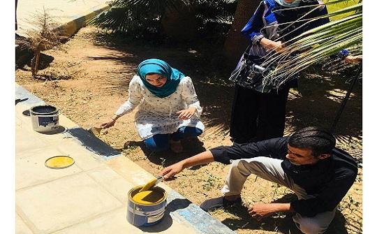 مديرية شباب الزرقاء تنفذ حملة للعمل التطوعي