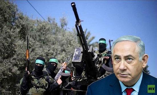 """بعد قصف صاروخي فلسطيني.. نتنياهو يتوجه إلى وزارة الدفاع ويقول لحماس متوعدا: """"انتظروا"""""""