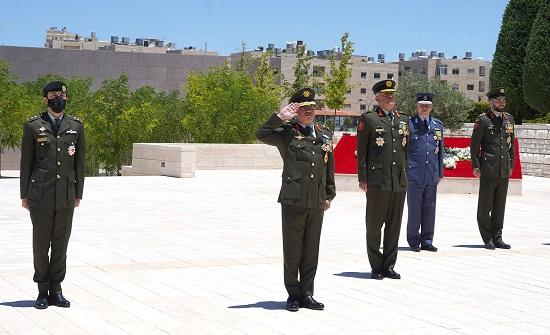 صور : الملك يرعى احتفال القوات المسلحة بالمناسبات الوطنية