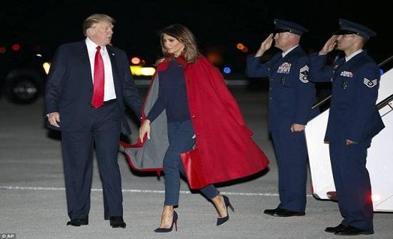 ميلانيا تُحرج 'ترامب'.. تصرّف يؤكد حقيقة توتر العلاقة بينهما!