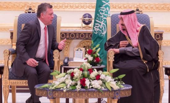 الملك يهنئ خادم الحرمين الشريفين بالعيد الوطني لبلاده