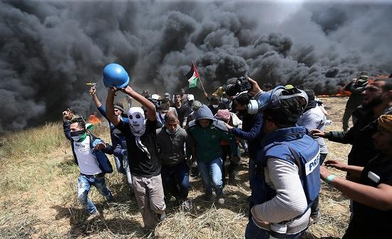 نقابة الصحفيين الفلسطينيين: استهداف الاحتلال للمقار الإعلامية يندرج في إطار جرائم الحرب