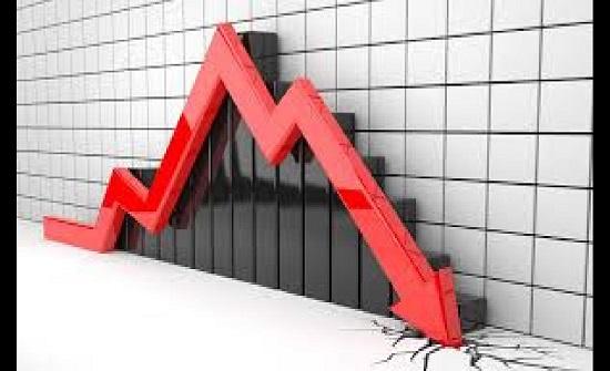 عمليات جني ارباح تقود مؤشر البورصة إلى الانخفاض