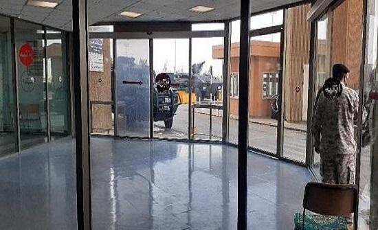 تعزيزات أمنية أمام مستشفى المؤسس