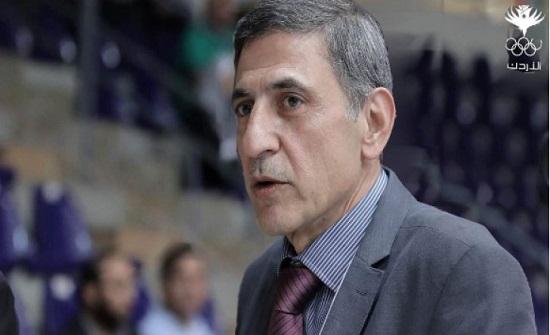 اللجنة الأولمبية تنعى رئيس اتحاد الكراتيه الفاعوري