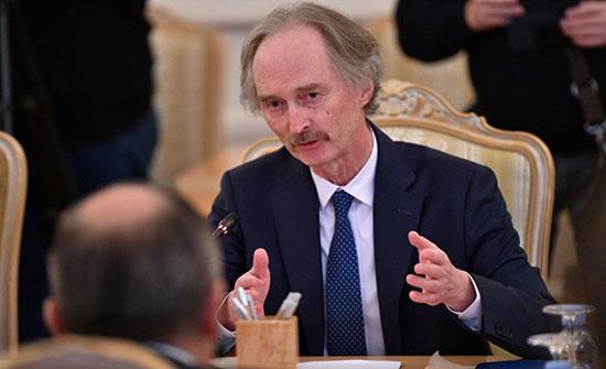 بيدرسون يعلن موعدا جديدا لاجتماع لجنة الدستور السورية