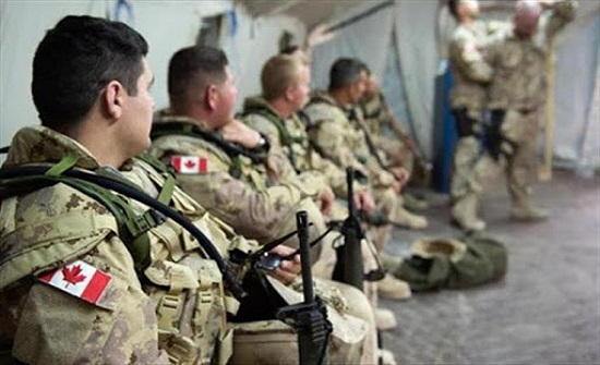 إصابة 5 أعضاء بالجيش الكندي بكورونا