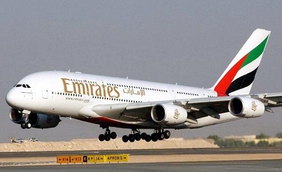 طيران الإمارات تشارك الأردنيين احتفالاتهم بعيد الاستقلال