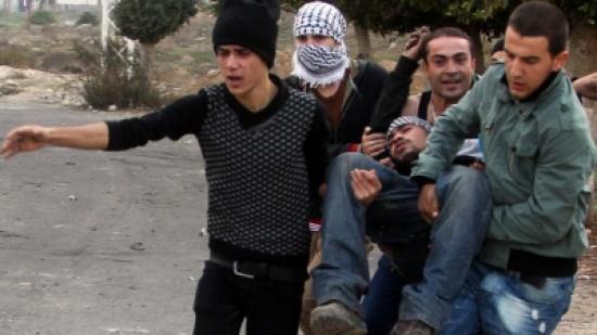 إصابة فلسطيني في اعتداء للمستوطنين جنوب نابلس