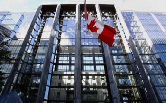 انكماش الاقتصاد الكندي لأول مرة منذ عام