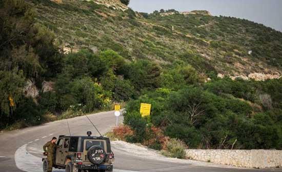 الجيش الاسرائيلي يرفع حالة التأهب على حدود لبنان عقب الاشتباه بفرار شخص