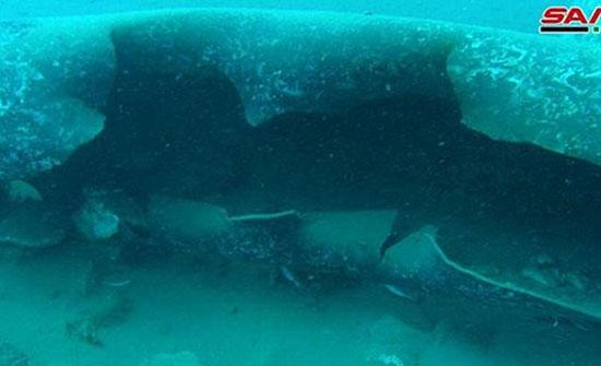 هجوم على خطوط نفطية تحت المياه في بانياس السورية (فيديو)