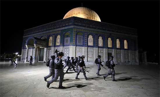 فاعليات شعبية وحزبية تندد بالاعتداءات الإسرائيلية في القدس وغزة