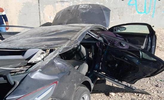 صور : وفاة و4 اصابات جراء حادث سير في الطفيلة