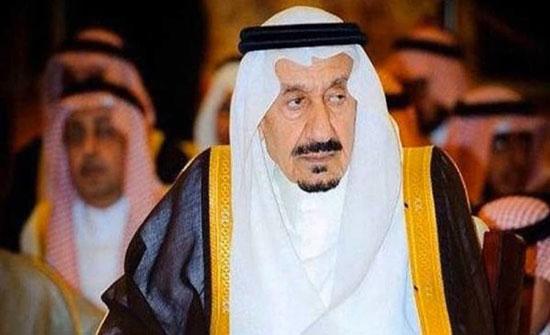 وفاة الأمير متعب.. الأخ غير الشقيق للملك سلمان