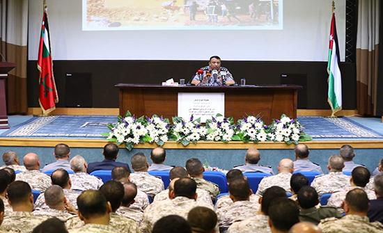 الحواتمة: الدرك يعمل بأعلى درجات التكامل والتنسيق مع القوات المسلحة والأجهزة الأمنية