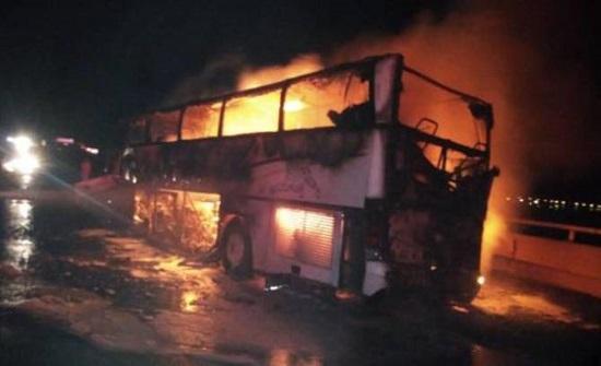 الخارجية: لا أردنيين على حافلة المدينة المنورة