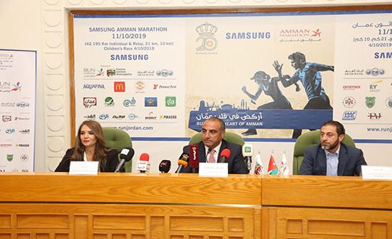 انطلاق ماراثون عمان 11 الشهر المقبل
