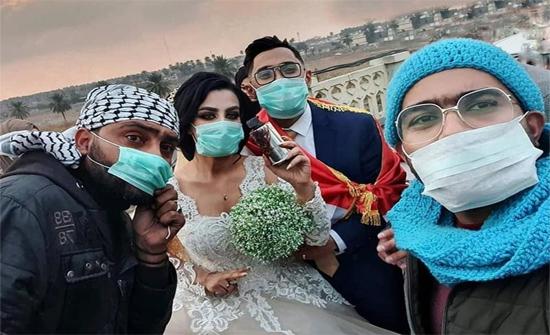 قبلة في وجه الموت..قصة حب في احتجاجات بغداد تكللت بالزواج