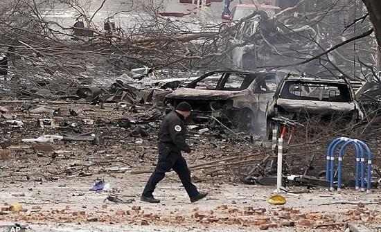السلطات الأمريكية تلقت تحذيرا من قنبلة ناشفيل عام 2019