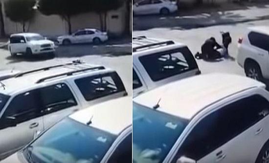 بالفيديو: لحظة اعتداء شابان على مقيم وقتله في السعودية