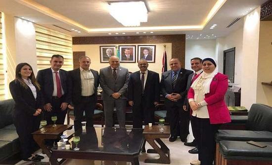 آل البيت تبحث تعزيز التعاون مع اتحاد الجامعات العربية