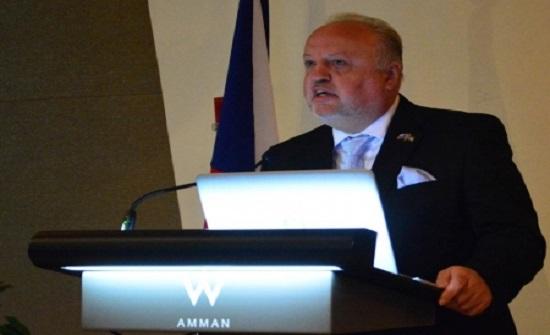 السفير التشيكي: نقدر دور الاردن كقوة معتدلة في المنطقة