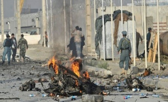مقتل شرطيين واصابة 20 طفلا في انفجار بأفغانستان