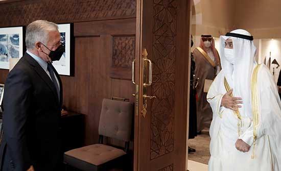 الملك يستقبل الأمين العام لمجلس التعاون الخليجي