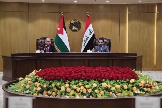 بالصور : رئيس مجلس النواب يبحث مع نظيره العراقي العلاقات الثنائية