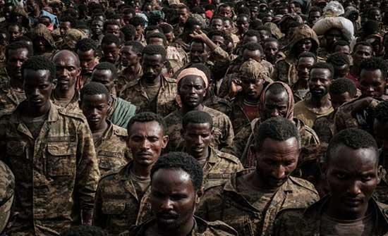 قوات تيغراي تطلق سراح ألف جندي إثيوبي أسير