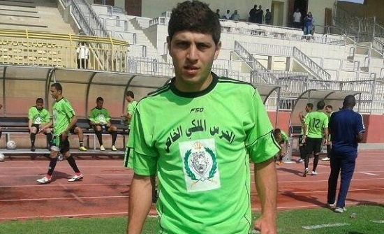 فوز فريق الحرس الملكي لكرة القدم على شباب الأردن