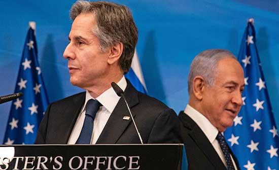 أعضاء مجلس الشيوخ الديمقراطيون يحثون بلينكن على الضغط على إسرائيل بشأن إعمار غزة