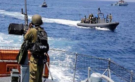 الاحتلال الاسرائيلي يقصف قوارب الصيادين في بحر غزة