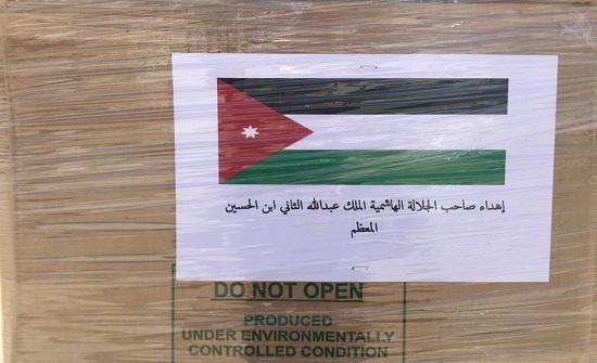 بتوجيهات ملكية... قافلة مساعدات طبية للشعب العراقي (صور)
