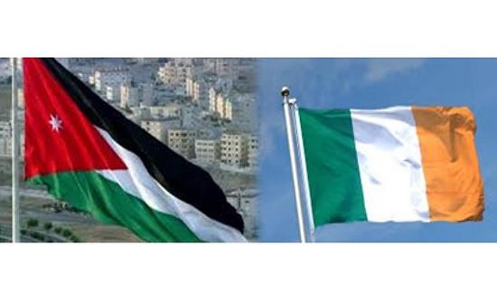 السفير الإيرلندي يؤكد تقدير بلاده لجهود الأردن في تحقيق السلام