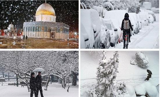 صور حول العالم : الثلج يحول هذه المدن إلى جنة بيضاء رائعة
