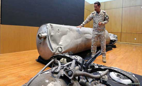 السعودية تعترض صاروخا باليستيا وطائرتين مسيرتين