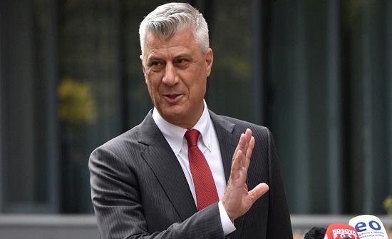 """رئيس كوسوفو يدخل الحبس لمواجهة تهم """"ارتكاب جرائم حرب"""""""