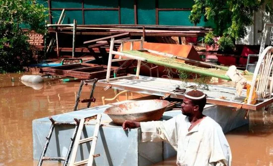 شاهد: تصوير يرصد الدمار الذي خلفته السيول في السودان