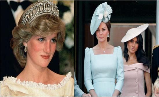 صور تثبت أن كيت ميدلتون تقلّد ستايل الأميرة ديانا