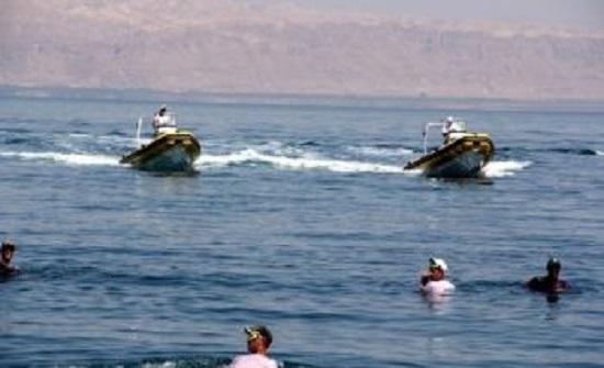 البحر الميت : انقاذ شابين تعرضا للغرق