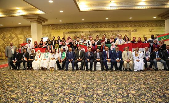 إنطلاق فعاليات اللقاء السادس عشر لشباب العواصم العربية في عمان
