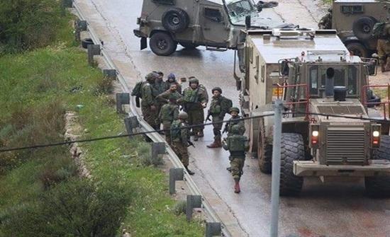 الاحتلال الاسرائيلي يقتحم مؤسسة لجان العمل الصحي بالبيرة