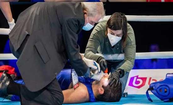 """صويصات """"كان يعاني من نزيف في الدماغ"""" بعد مباراته في بطولة العالم"""