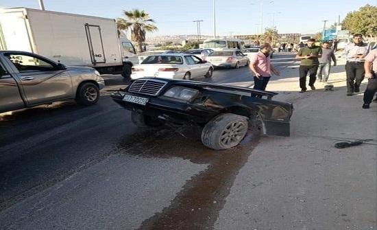 وفاة و6 إصابات بحادث مروع في البلقاء (صور)