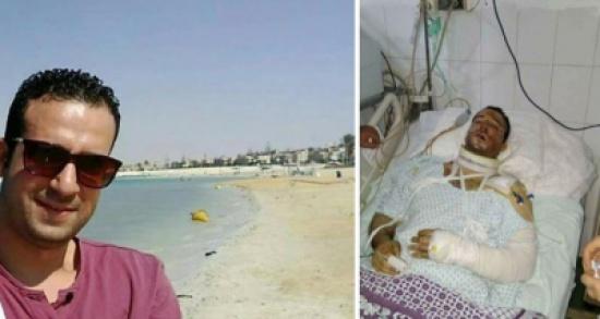 'شهامة محمد'.. حاول إنقاذ فتاة من اللصوص فدهسوه بسيارتهم (صور)