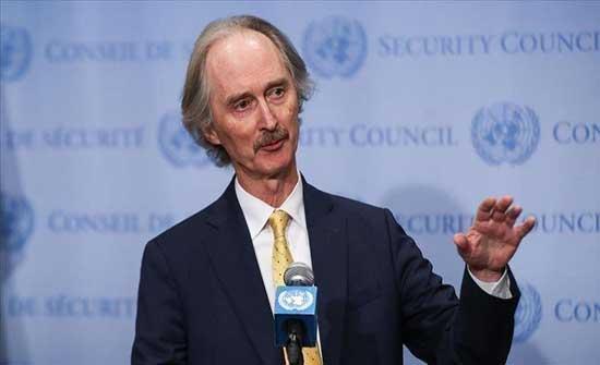 بيدرسون: الانتخابات السورية ليست ضمن العملية السياسية